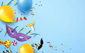 סידור בלונים ליום הולדת