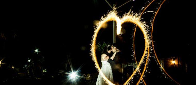 זיקוקי דינור לחתונה